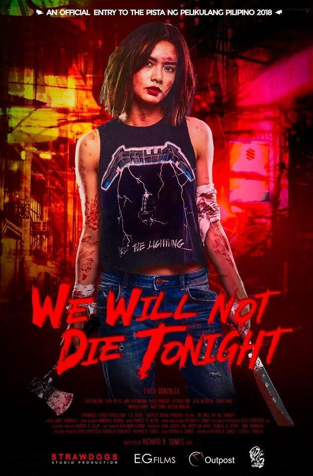 we will not die tonight poster