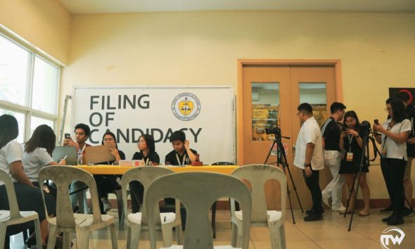 filing of candidacy for csc elections booth in tyk